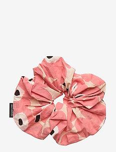 RUUSUNKUKKA UNIKKO HAIR SCRUNCHIE - accessoires - beige, pink, black