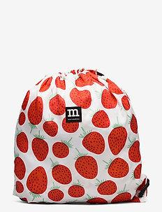 SMARTSACK MANSIKKA - backpacks - off white, red, green