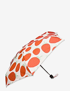 MINI MANUAL MANSIKKA UMBRELLA - paraplyer - off white, red, green