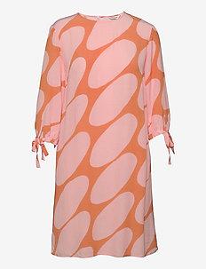 HEHKUU LINSSI DRESS - vardagsklänningar - coral, pink