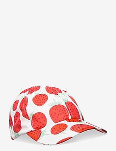 VARHAIN MANSIKKA CAP - kasketter - white, red, green