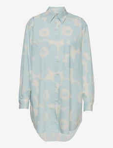 NORKKO PIENI UNIKKO 2 SHIRT - skjortekjoler - off-white, light blue