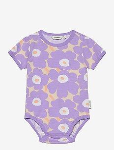 VAUDE MINI UNIKOT - kortærmede - light yellowish, lavender