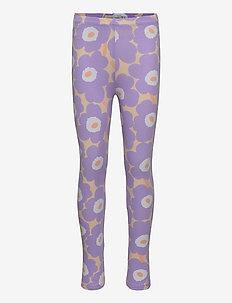 LAIRI MINI UNIKOT - leggings - light yellowish, lavender