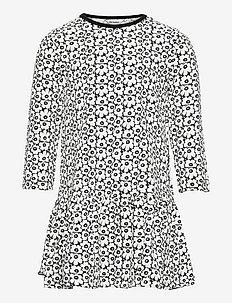 KULTARINTA PIKKUINEN UNIKKO - kjoler - black, off white