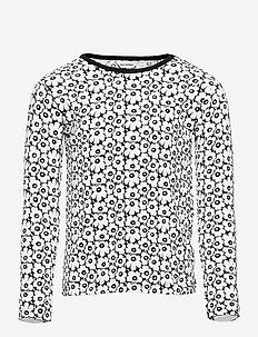 OULI PIKKUINEN UNIKKO - langærmede t-shirts - black, off white