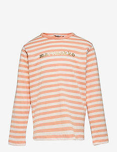 VEDE TASARAITA 2 - langærmede t-shirts - off white, light apricot, gold