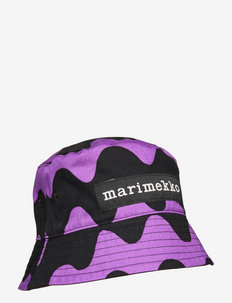 HILLERI HAT - bucket hats - brown,black,purple