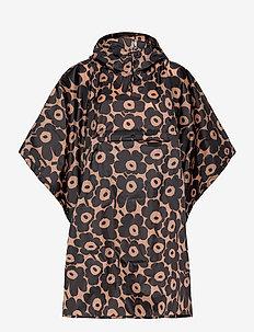 RAIN PONCHO PIKKUINEN UNIKKO - vihmamantlid - brown, black