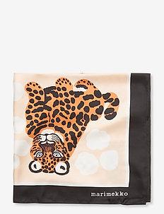 JOSINA KAKSOSET SCARF - tørklæder - off white, brown, black
