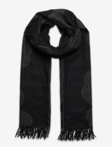 SUE JACQUARD JUHLA-UNIKKO SCARF - Écharpes d'hiver - black, grey