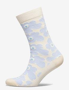 HIETA UNIKKO SOCKS - vanliga strumpor - white, blue