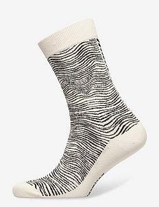 SALLA SILKKIKUIKKA SOCKS - sokker - black, off white