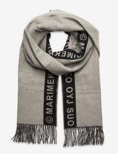 SIIME SCARF - vinterskjerf - grey,black