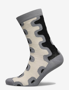 SALLA SEIREENI SOCKS - vanliga strumpor - beige, grey, black