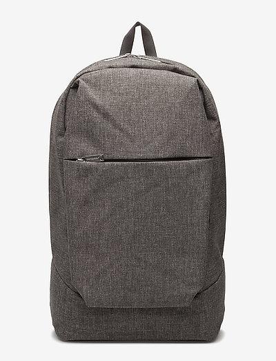 KORTTELI CITY BACKPACK - rygsække - melange grey