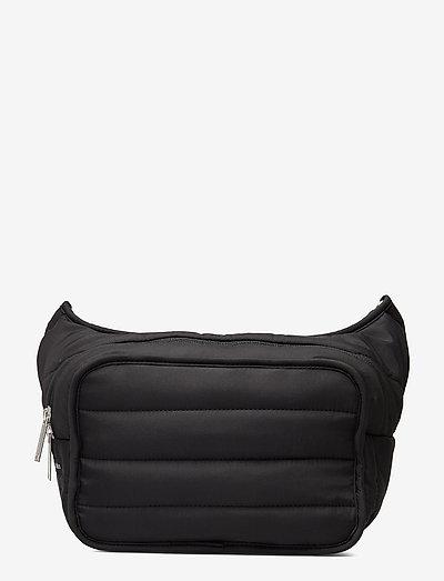 BILLIE - bæltetasker - black