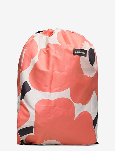 Marimekko Smart Sack Unikko- Plecaki Coral Beige Black