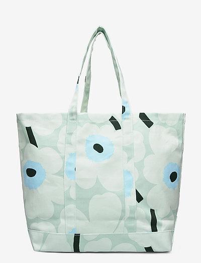 Marimekko Peruskassi Pieni Unikko Bag- Shopperit Light Turquoisebluegreen