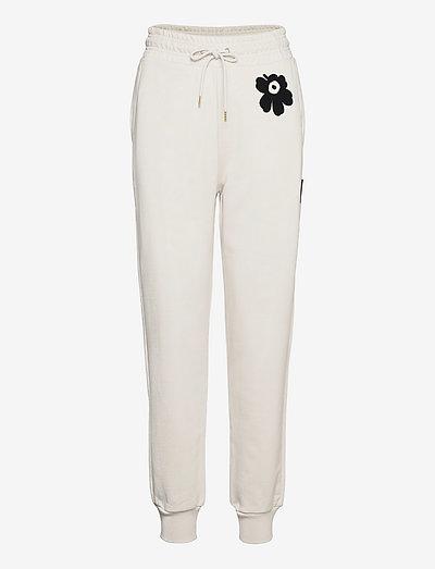 TIRSAT SWEATPANTS - sweatpants - light beige, black