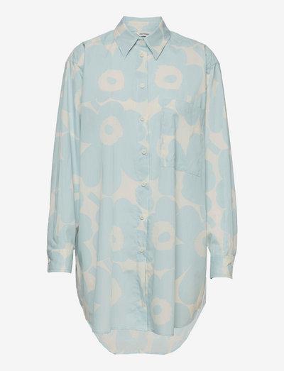 NORKKO PIENI UNIKKO 2 SHIRT - langærmede skjorter - off-white, light blue