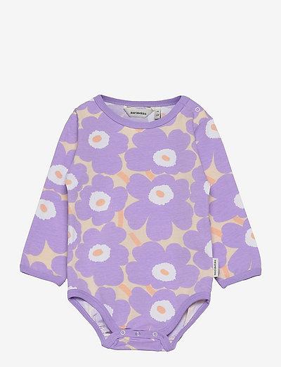 VINDE MINI UNIKOT - pitkähihaiset - light yellowish, lavender