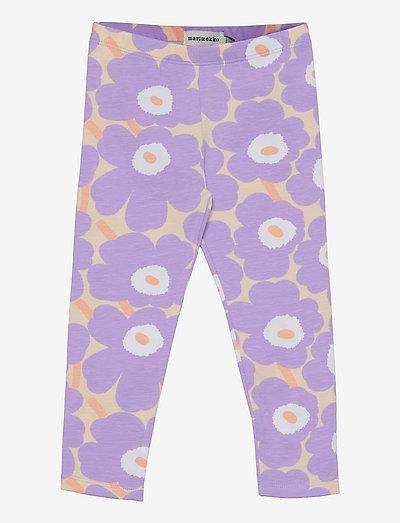 LAIRI MINI UNIKOT - housut - light yellowish, lavender