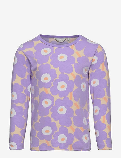 OULI MINI UNIKOT - pitkähihaiset paidat - light yellowish, lavender