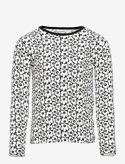 OULI PIKKUINEN UNIKKO - pitkähihaiset paidat - black, off white
