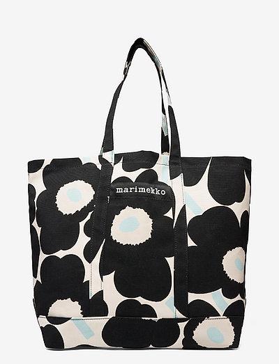 PERUSKASSI PIENI UNIKKO 2 BAG - shoppere - off white,black,light blue