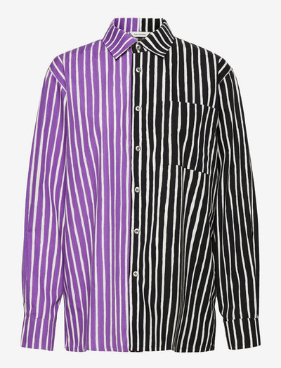 JOKAPOIKA 2017 MIX SHIRT - langærmede skjorter - violet, black