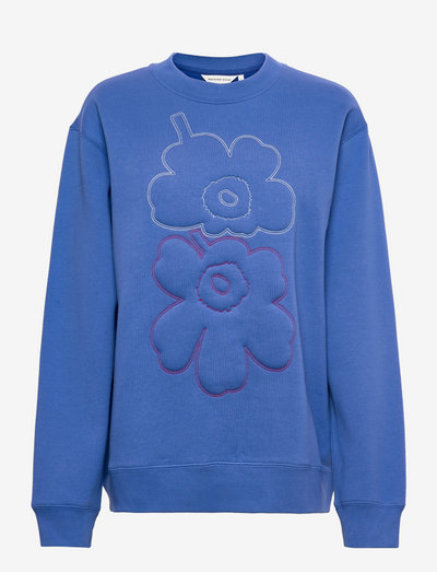 HUIPENNUSTA UNIKKO SWEATSHIRT - sweatshirts - blue, multicolored