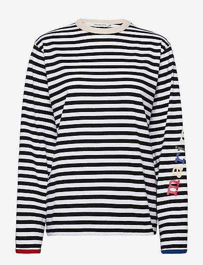 TAAKSE LOGO TASARAITA SHIRT - langærmede toppe - white, black, multicolored