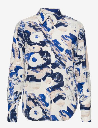 TOIVEIKAS MAISEMA UNIKKO SHIRT - langærmede skjorter - off-white, beige, blue