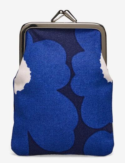 KORTTI KUKKARO MINI UNIKKO PURSE - punge - dark blue,blue,off white