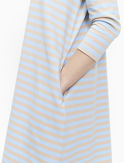 Marimekko Aretta Dress- Mekot Light Blue Beige