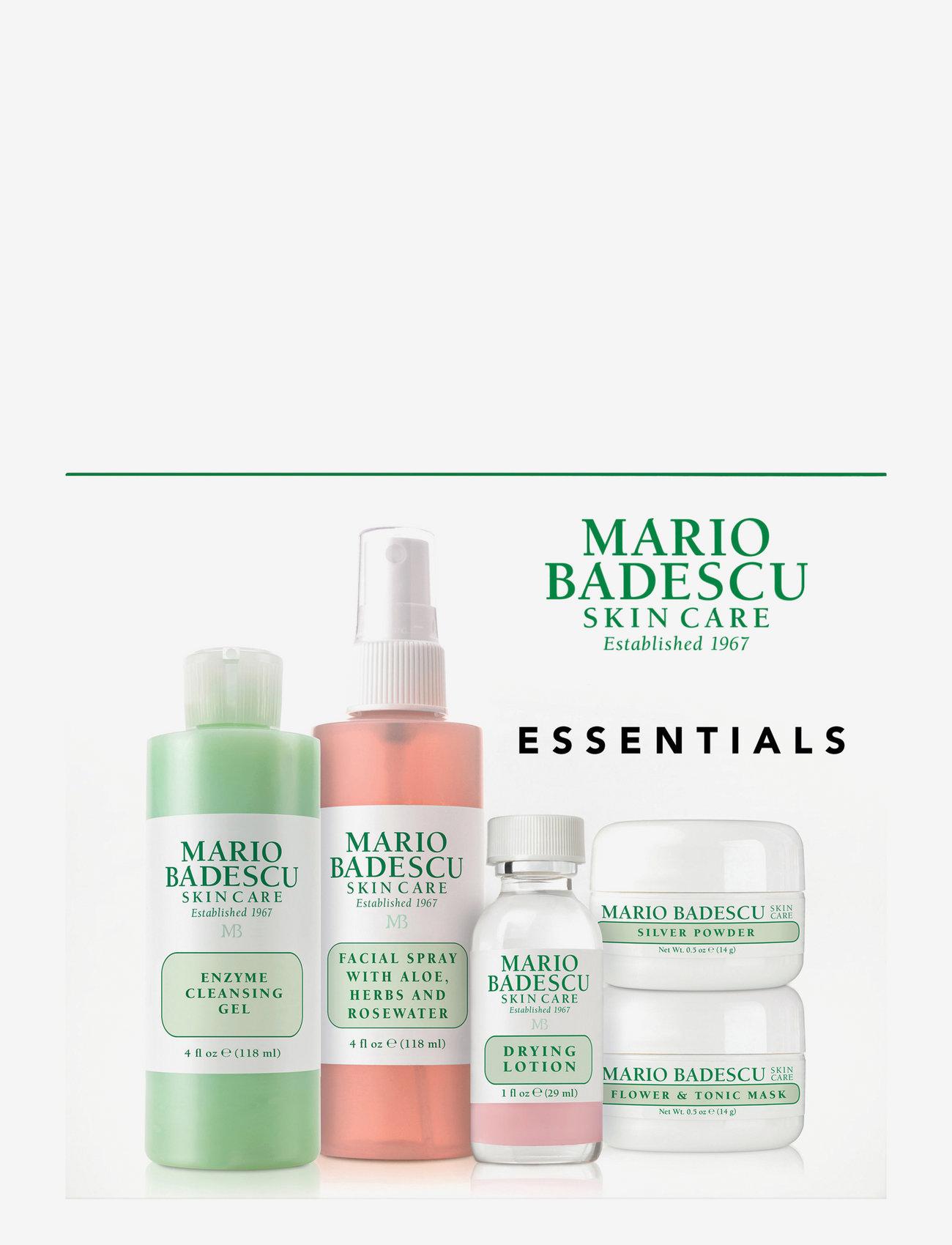 Mario Badescu - Mario Badescu Essentials - hudvårdsset - clear - 0