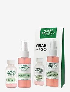Mario Badescu Grab & Go Set - hudvårdsset - clear