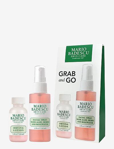 Mario Badescu Grab & Go Set - hudplejesæt - clear