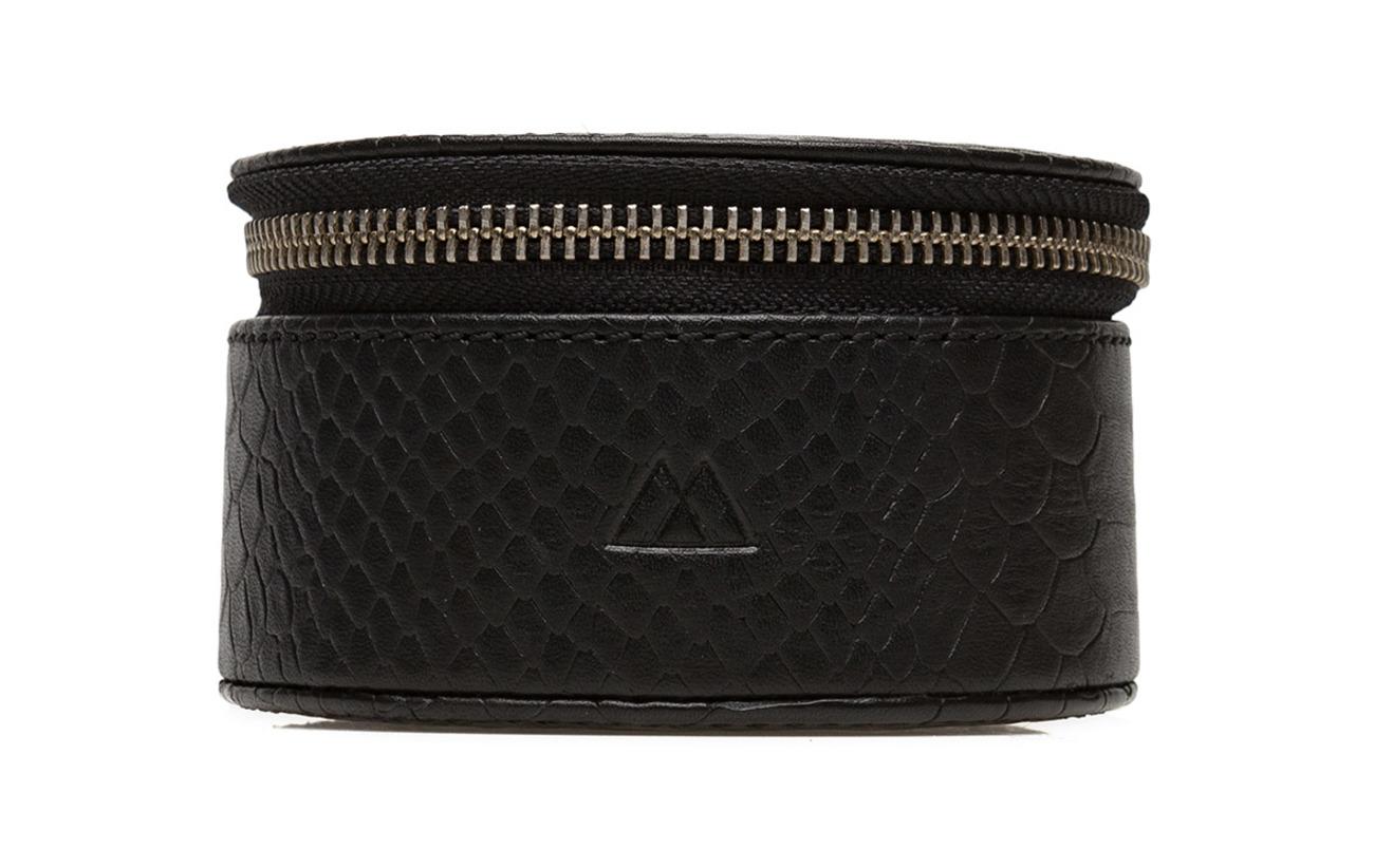 Markberg Lova Jewelry Box, L, Snake - BLACK