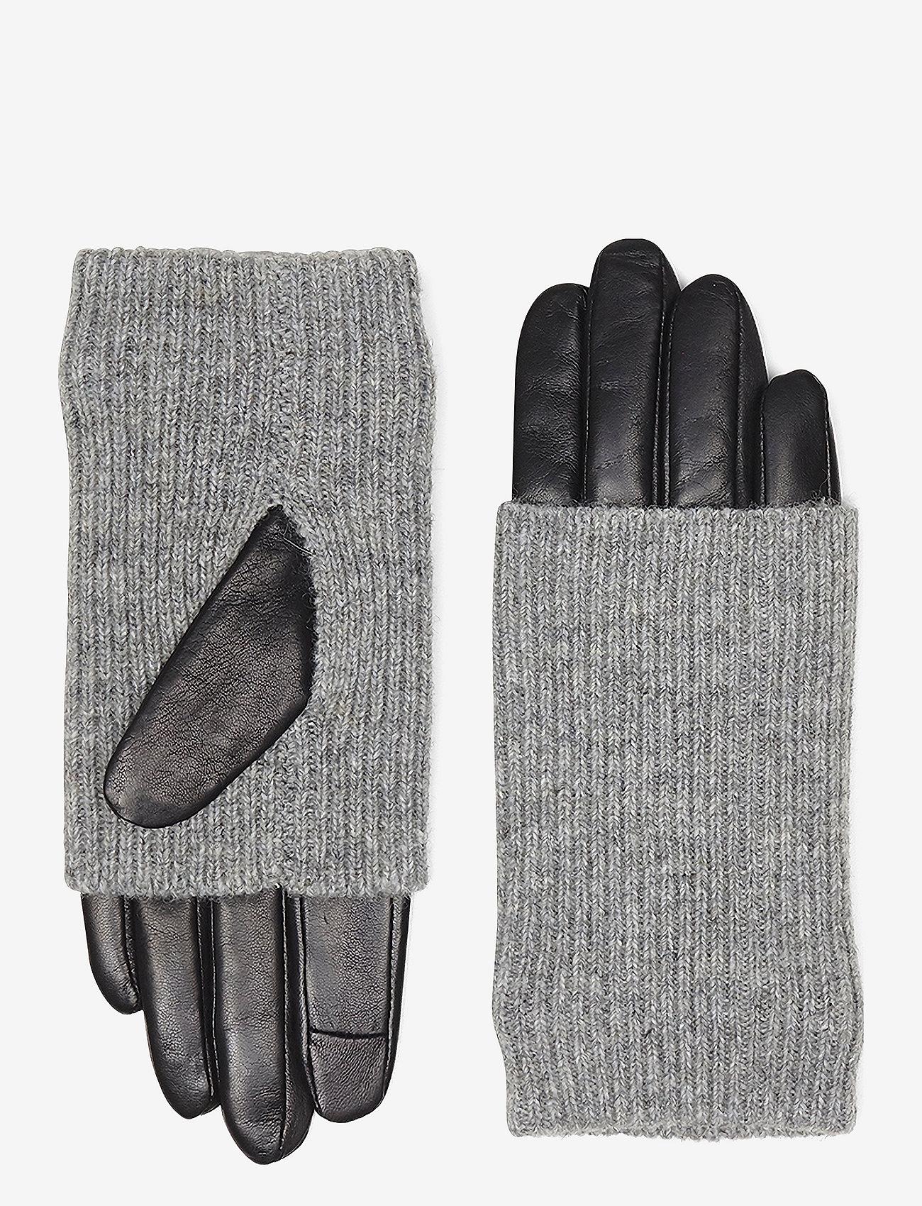 Markberg - Helly Glove - hanskat - black w/grey - 1