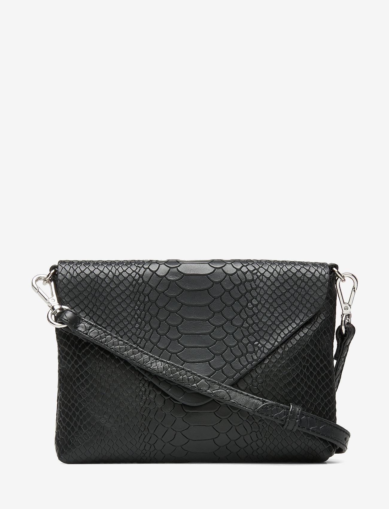 Markberg - Jenny Crossbody Bag, Snake - torby na ramię - black - 1