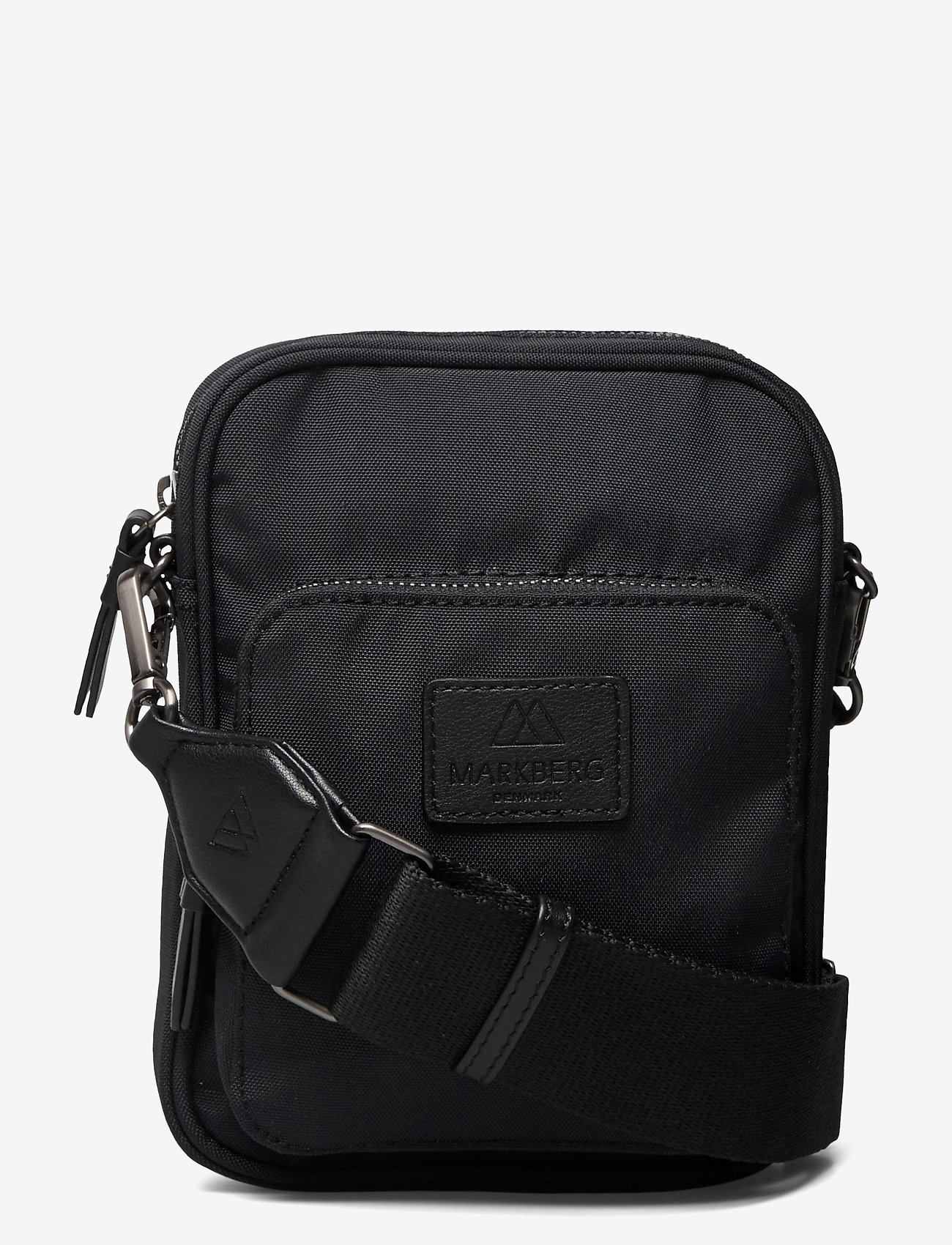 Markberg - Bexley Crossbody Bag - tassen - black w/black - 0