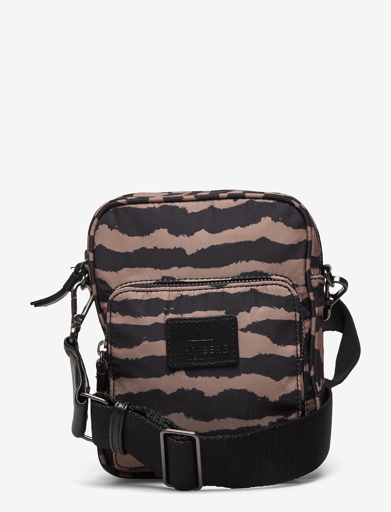 Markberg - Bexley Crossbody Bag - tassen - blurry lines w/black - 0