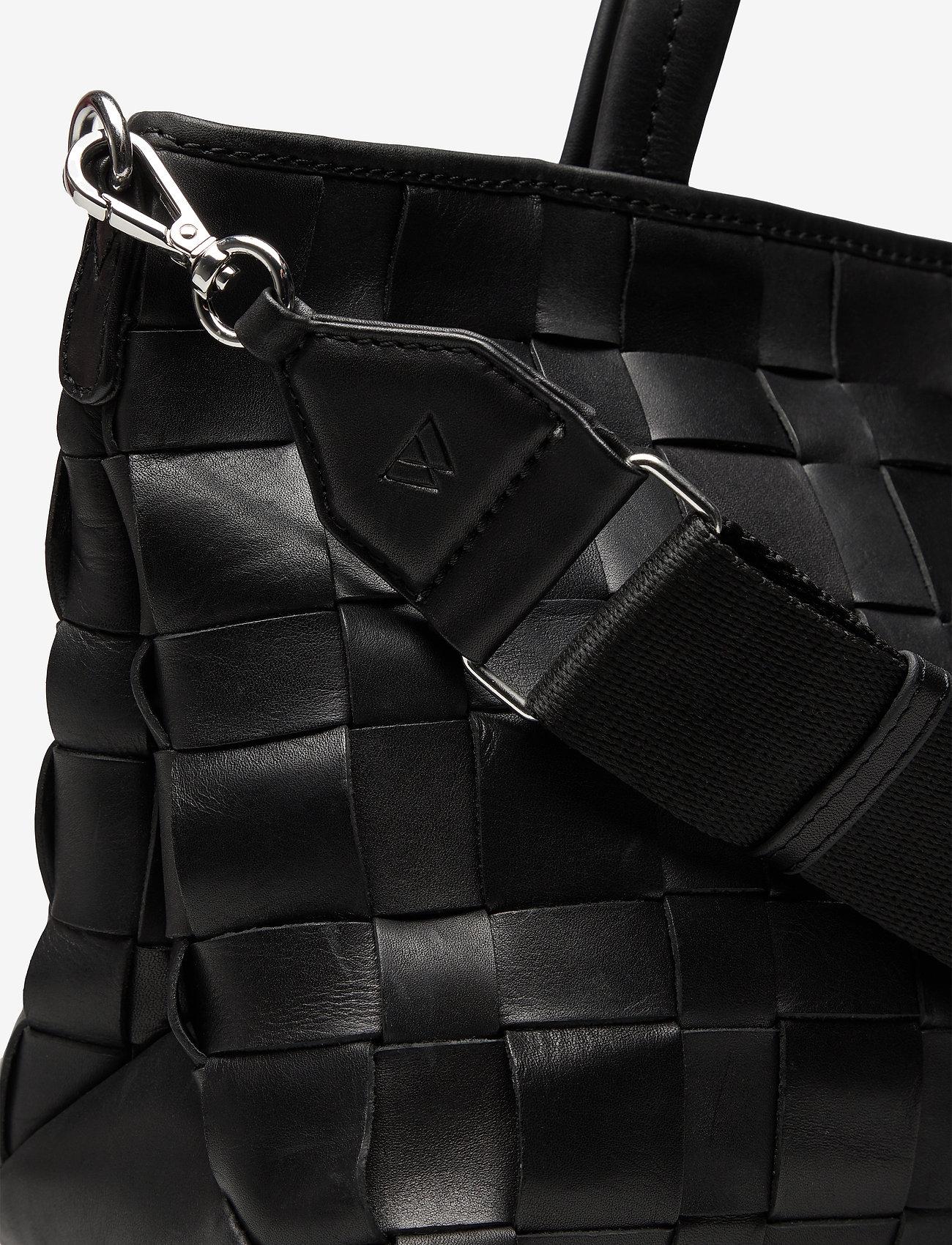 Markberg - Vita Shopper, Antique - bags - black w/black - 3