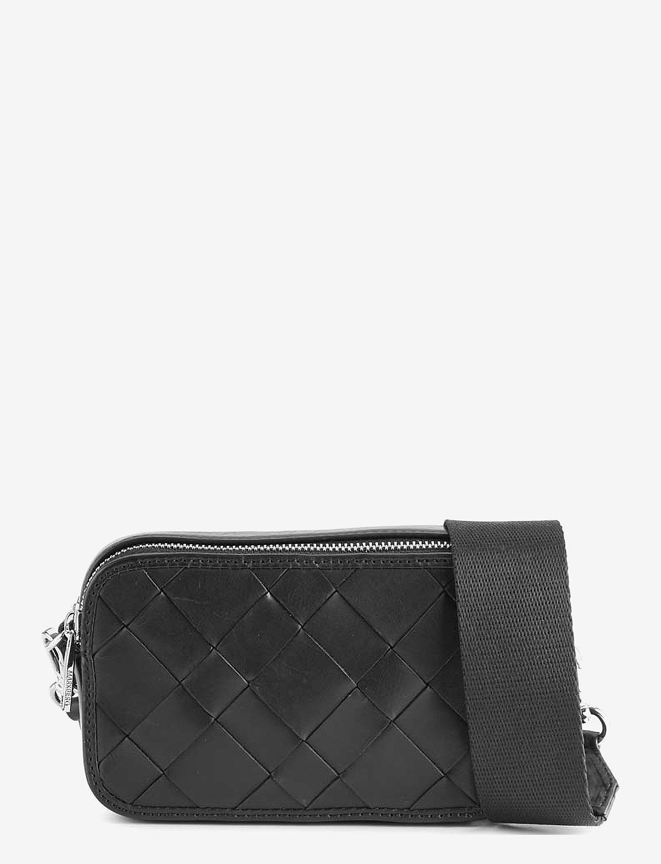 Markberg - Ena Crossbody Bag, Antique - väskor - black w/black - 0