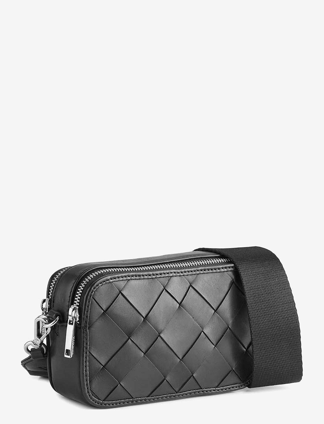 Markberg - Ena Crossbody Bag, Antique - väskor - black w/black - 1