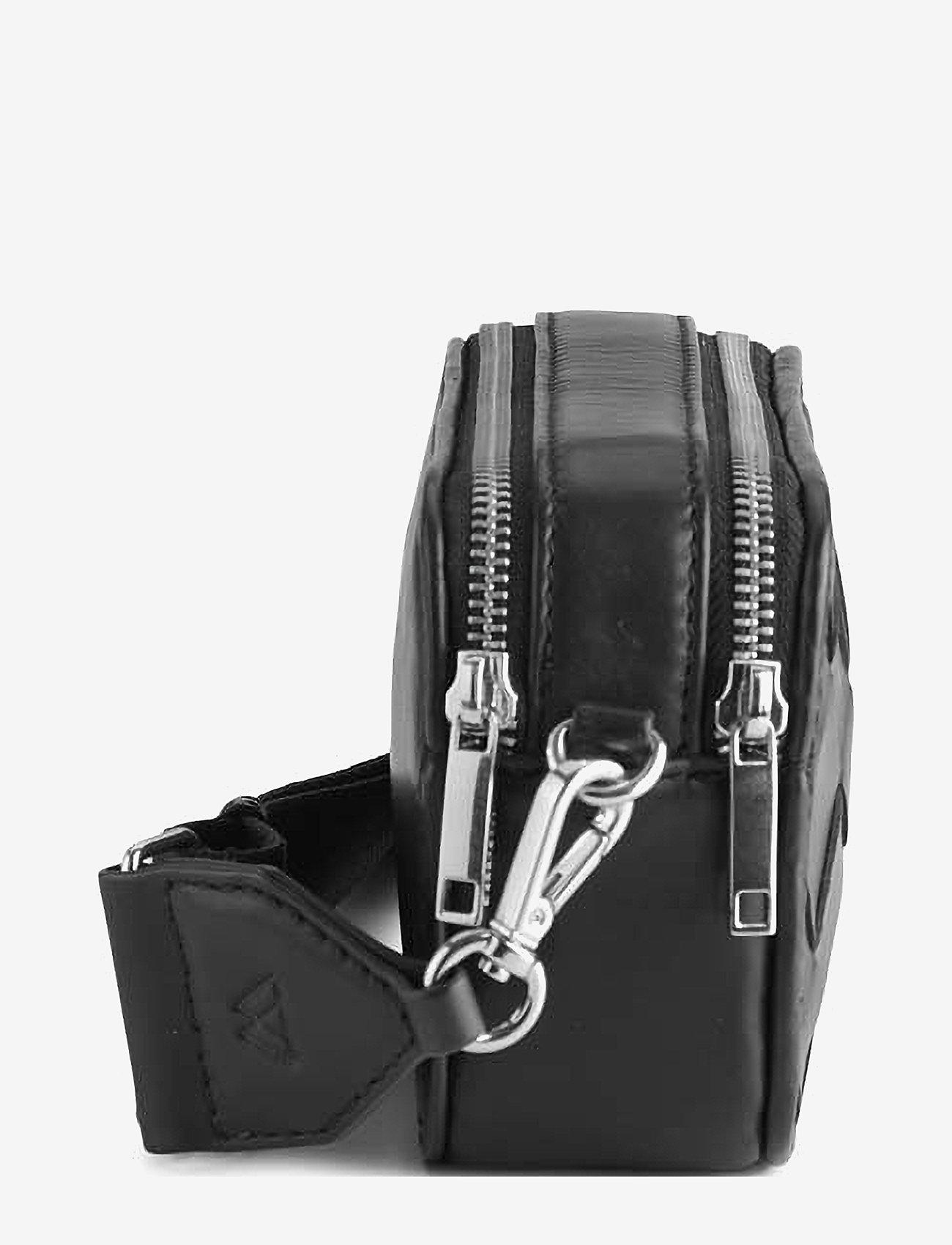 Markberg - Ena Crossbody Bag, Antique - väskor - black w/black - 2