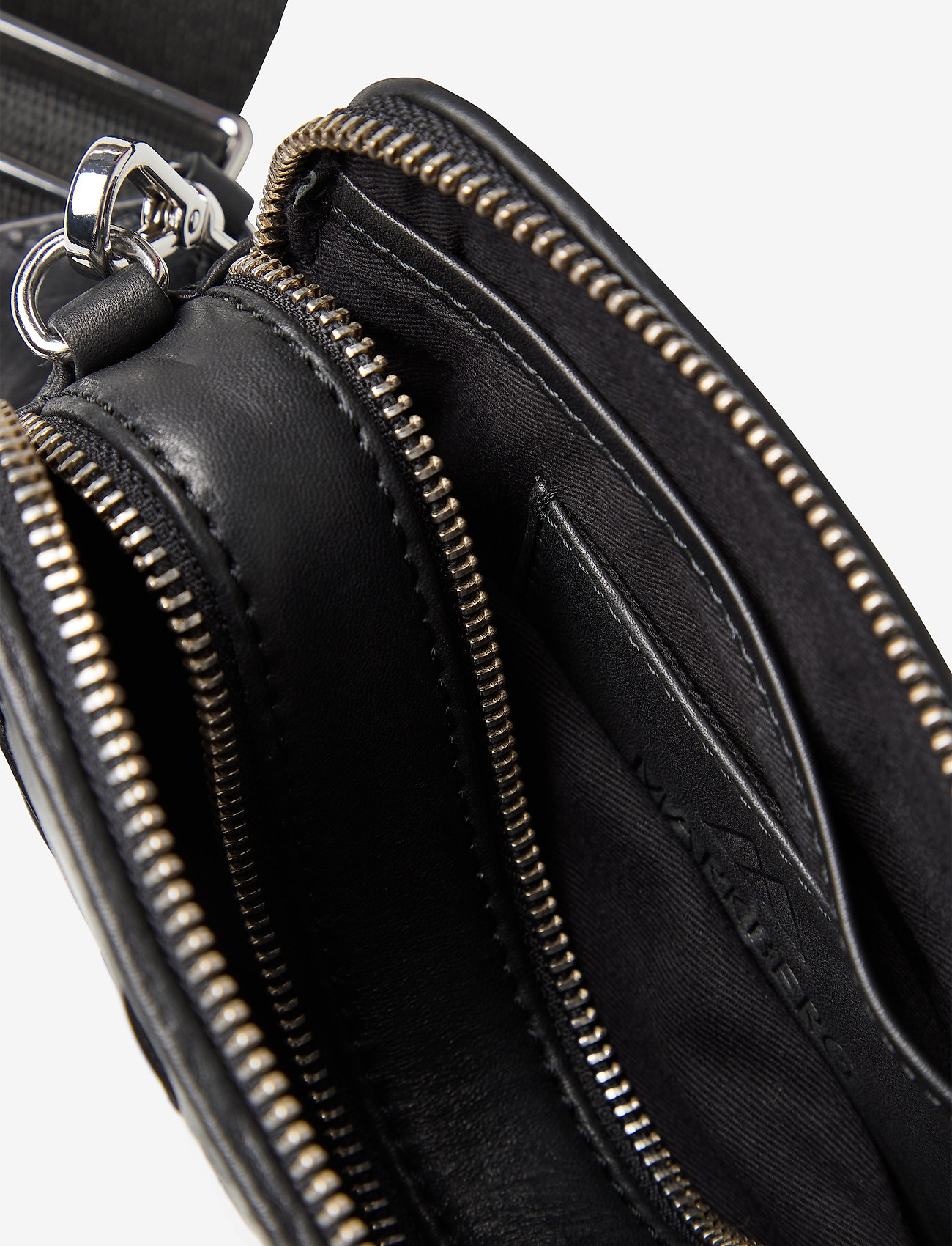 Markberg - Ena Crossbody Bag, Antique - väskor - black w/black - 4