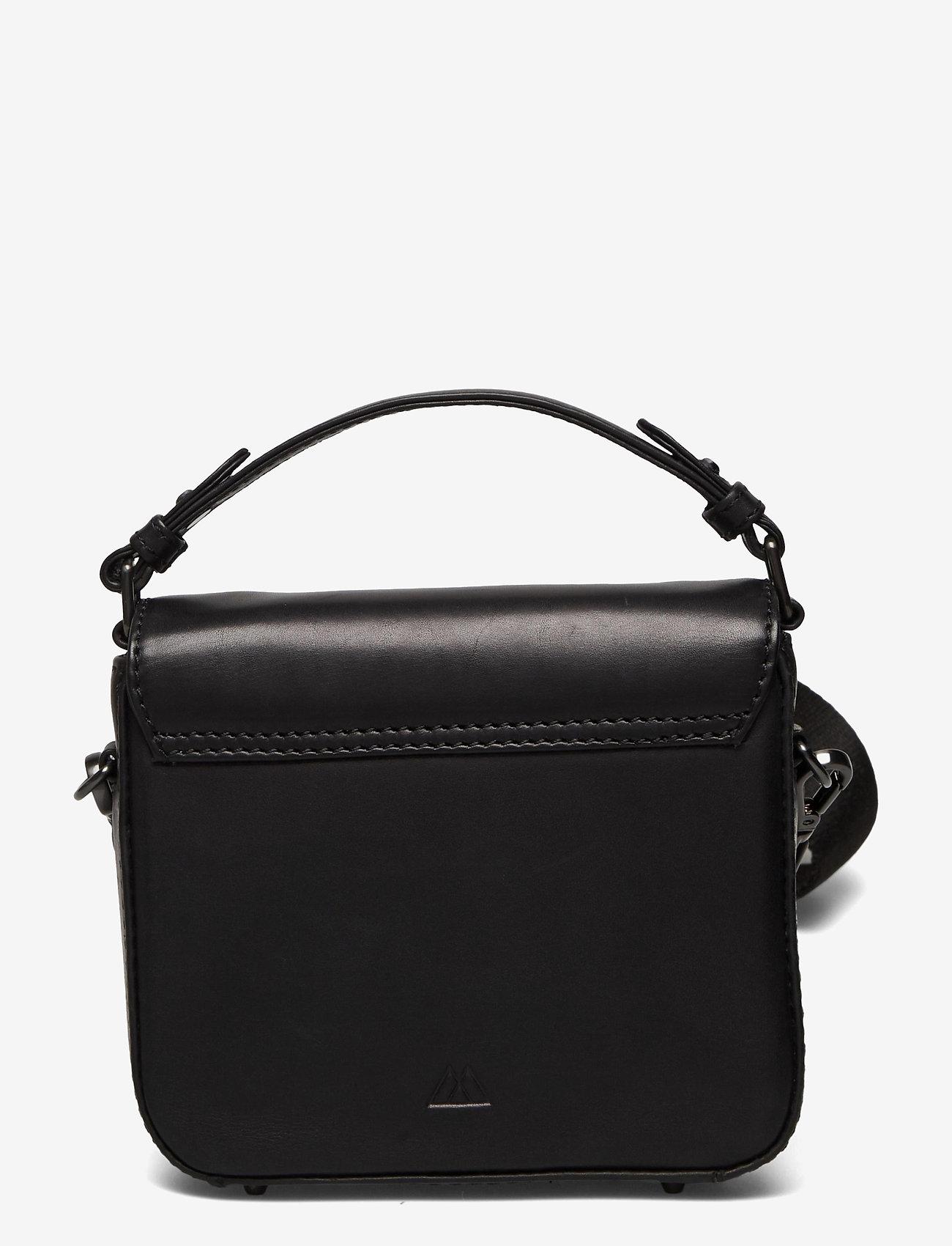 Markberg - Adora Small Crossbody Bag, Ant - väskor - black w/black - 1